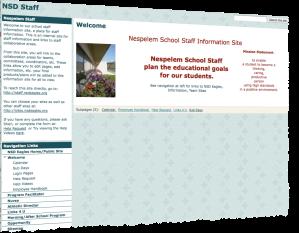 NSD Staff Website