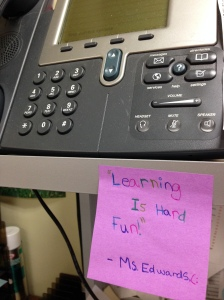 Learning Is Hard Fun note