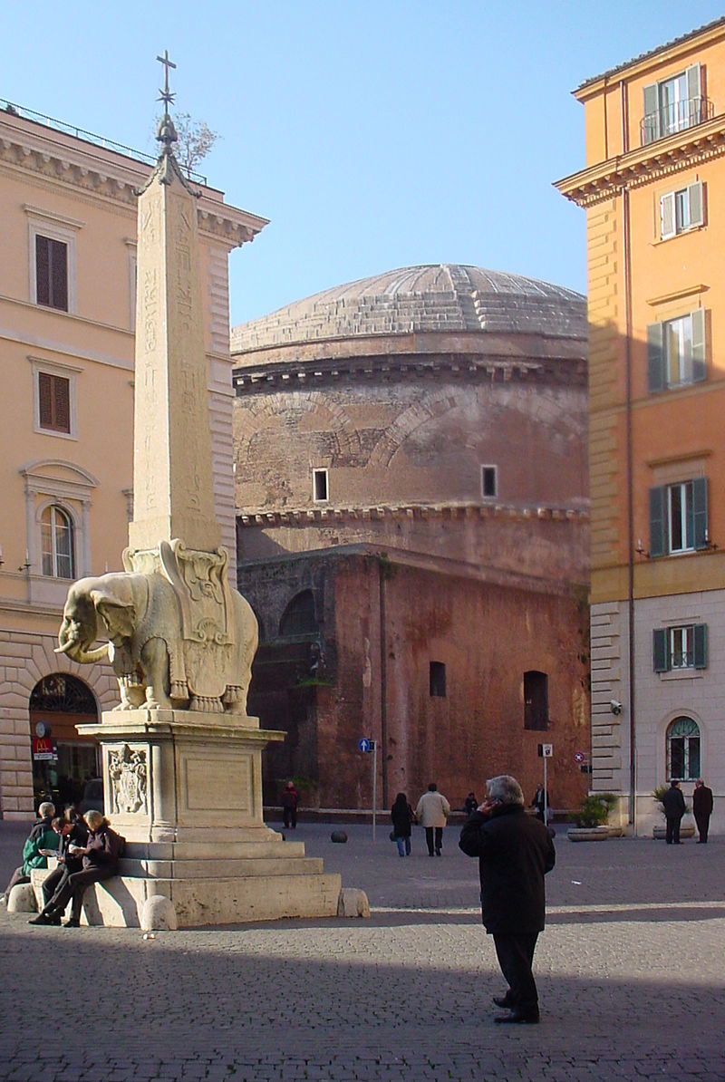 South_east_view_of_the_Pantheon_from_Piazza_Minerva,_2006