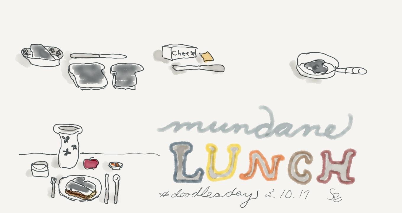 dad10_doodleaday_lunch_cheese_sandwhich_mundane