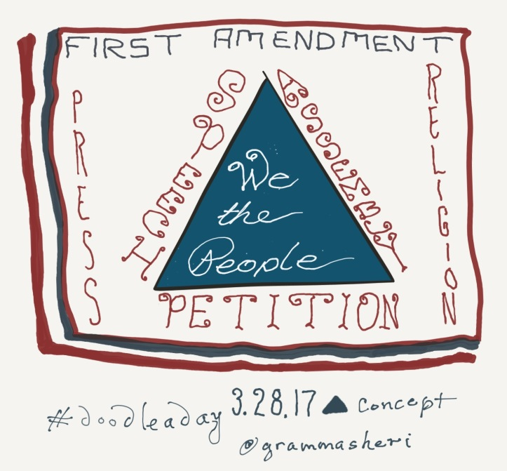 doodleaday_first_amendment_triangle