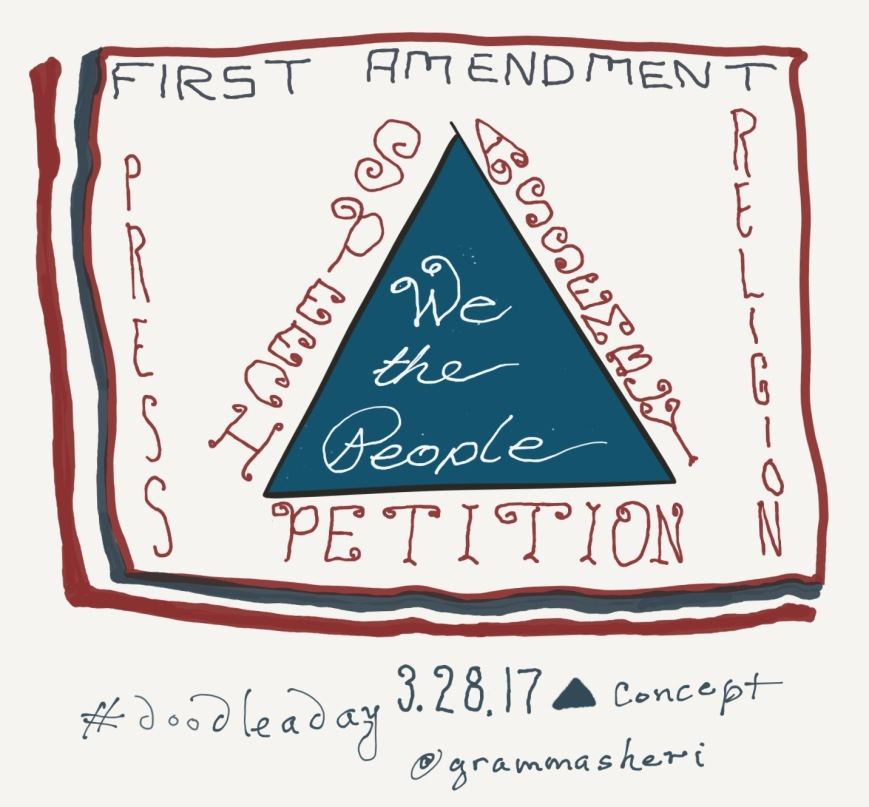 doodleaday_first_amendment_triangle