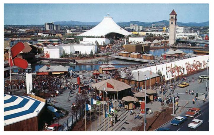expo postcard