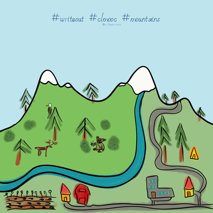 doodle.mountains.writeout.clmooc